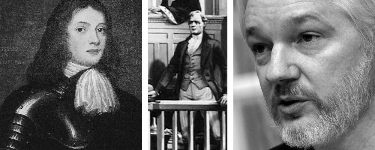 Penn, Zenger, Assange